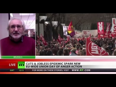 Union Crack: \'EU govt \'austerity\' policies go against people\'s will\'