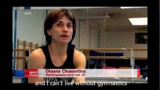 Oksana Chusovitina documentary (with English Subtitles)