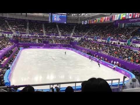 2018 평창동계올림픽 남자싱글 FS 4그룹웜업