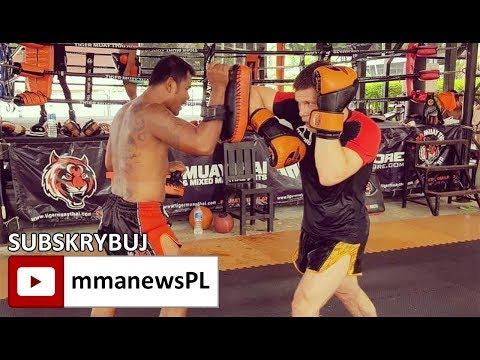 """Marcin Held przed UFC Gdańsk: """"Poprawiam stójkę, żebym ja nokautował przeciwników."""""""
