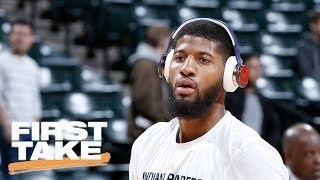 Paul George A 'Great Fit' For Houston Rockets | First Take | June 29, 2017