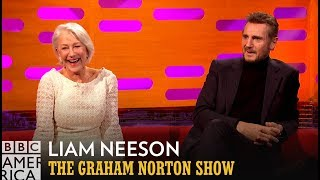 Liam Neeson Recalls First Meeting Ex-Girlfriend Helen Mirren - The Graham Norton Show