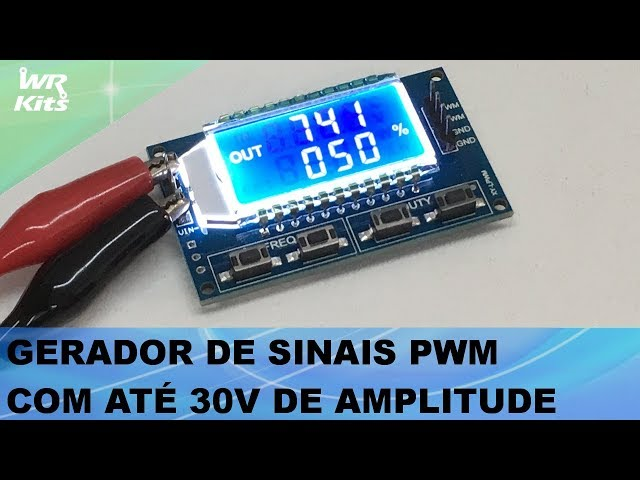 GERADOR DE SINAIS PWM COM ATÉ 30V DE AMPLITUDE