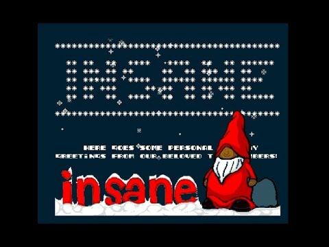 Insane - Xmas 2018 - Amiga Intro (50 FPS)