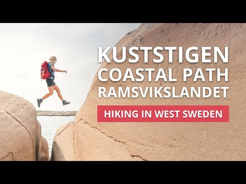 The Kuststigen Coastal Path has many stages and one of them takes you across the amazing island called Ramsvikslandet - also known as the Kingdom of Rocks. In this area, there are lots of interesting traces from the ice age, in the shape of rounded hills, giant's cauldrons, glacial striations and grooves. The pink Bohuslän granite is truly something exciting to discover. The main hiking trail is just over 14 kilometres long, but there are also several other paths on the island as well.  Interested in hiking here? Look here for further information:  https://www.vastsverige.com/en/nature-experiences/walking/?utm_source=youtube&utm_medium=videoinfo&utm_campaign=youtube   Welcome to West Sweden!