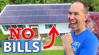 I Installed a Power Plant Myself   HUGE DIY Solar Panel System