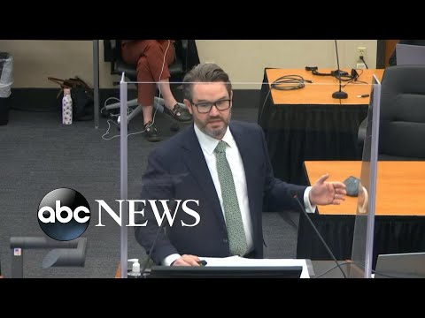 Lawyers for Derek Chauvin deliver closing arguments