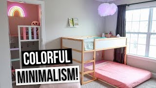 MINIMALIST KIDS ROOM TOUR 2019! Kids Room Makeover