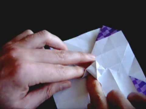 How to make the Origami Rose - YouTube - photo#31
