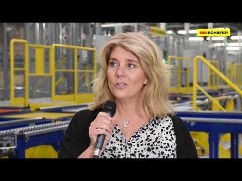 Pallet storage and distribution centre in Sweden for JYSK | SSI SCHAEFER