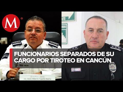 Caen Capella y 2 jefes de Cancún por tiroteo