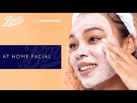 boots.com & Boots Voucher Code video: Skincare Tutorial | At Home Facial | Boots X Ole Henriksen | Boots UK