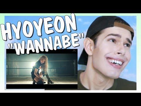 MV Reaction l HYOYEON 효연_Wannabe