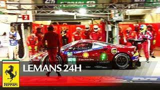 24H Le Mans This was 2017 LEMANS24 for Ferrari teams  crews
