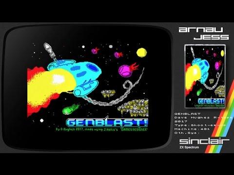 GENBLAST! Zx Spectrum by DAVE HUGHES