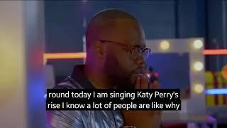 Wow! Thaddius jonshon songs rise by Katy Perry! I'm American idol - YouTube