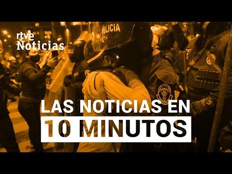 Las noticias del DOMINGO 15 DE NOVIEMBRE en 10 minutos | RTVE