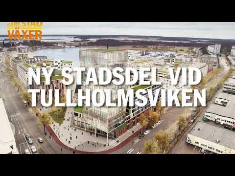 Ny stadsdel vid Tullholmsviken