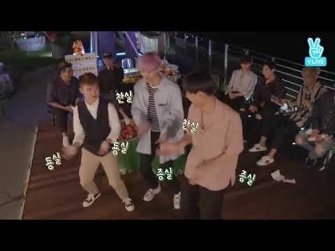 EXO/춤추라고해서 안무 지어서만드는 도경수 ㅋㅋ