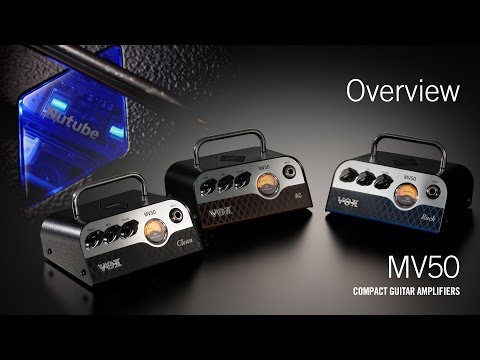 The VOX MV50 – A revolutionary new amplifier (Overview Video)