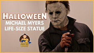 Halloween (2018)- Life Size Michael Myers Statue!