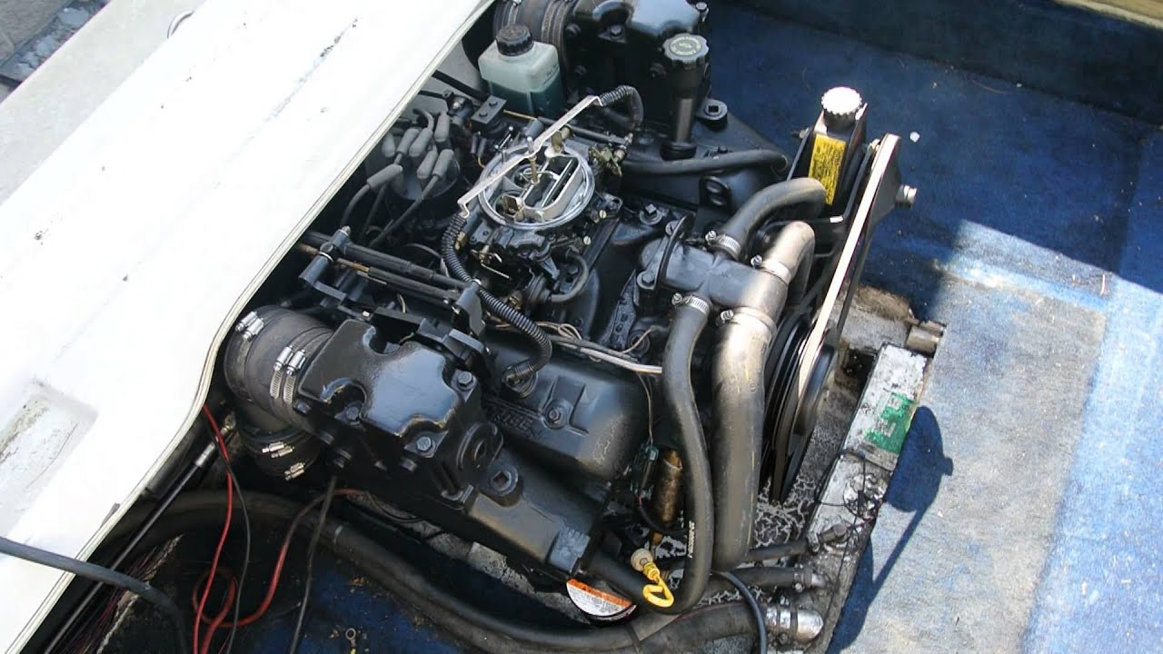 4 3 V6 Lx Mercruiser Alpha One Engine Test Run Gen Ii For