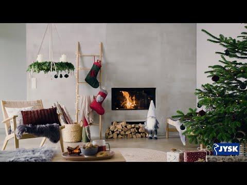 Klæd huset på i charmerende julepynt   JYSK