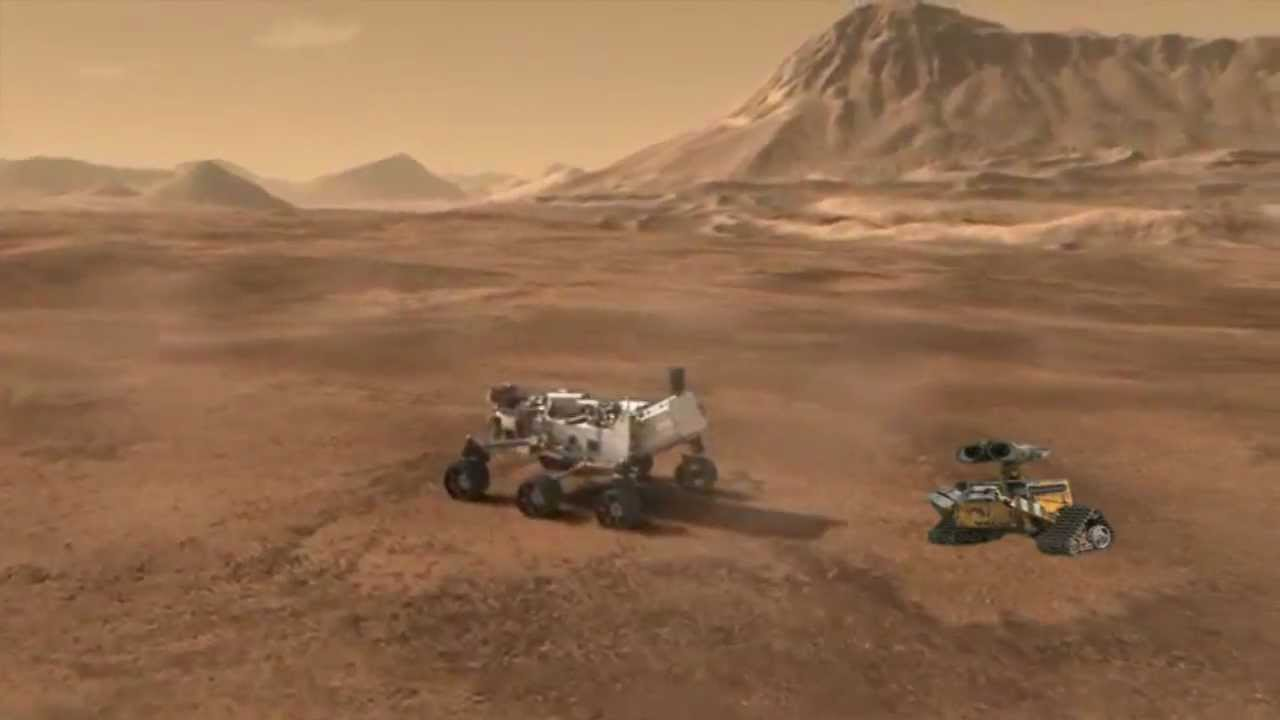 Mars Science Laboratory Curiosity Rover and the Wall E ...