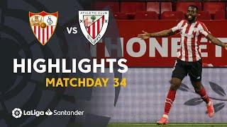Highlights Sevilla FC vs Athletic Club (0-1)