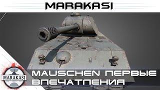 Mauschen первые впечатления, тест 0.9.9