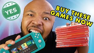 Nintendo Switch Lite - BEST GAMES FOR A PORTABLE CONSOLE!