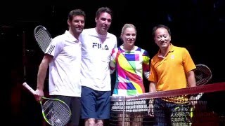 Showmatch! Mark Webber / Michael Stich vs Angelique Kerber / Michael Chang - Berenberg Classics 2016