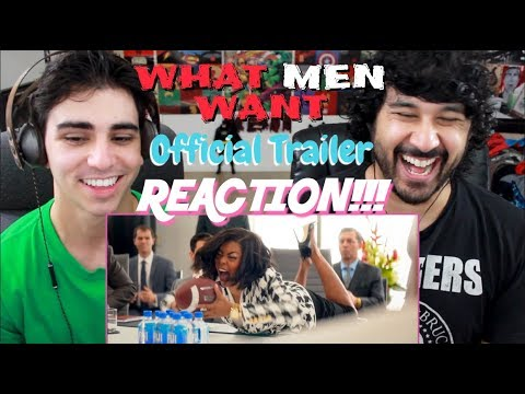 WHAT MEN WANT (2019) - Official TRAILER REACTION & REVIEW!!!