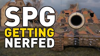 Artillery is getting NERFED in World of Tanks!