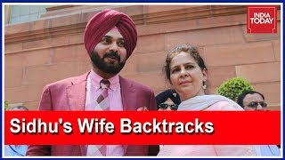 Sidhu's wife damage control, 'Revere Capt. like father'; S..