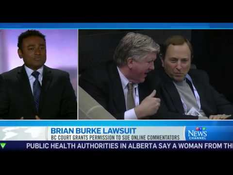 Serving legal notices online - Brian Burke Lawsuit