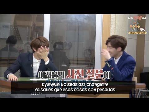 [SUB ESP] Changmin le pregunta a Kyuhyun si es virgen + Reacción de Minho, Suho, Jonghyun y Sunggyu