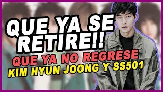 Coreanos atacan a Kim Hyun Joong y SS501 *Que ya NO regresen, YA NO SON FAMOSOS* // Noticias de Kpop