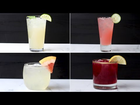 DIY Simple Syrups To Make 4 Delicious Spring Cocktails ? Tasty