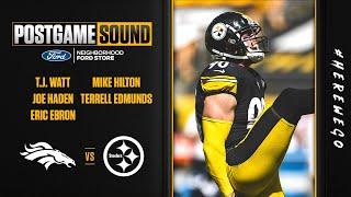Postgame Sound (Week 2 vs Denver Broncos): Watt, Haden, Ebron, Hilton, Edmunds