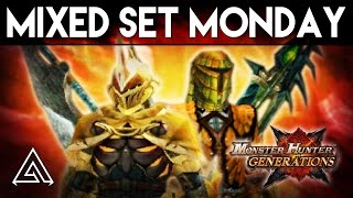Monster Hunter Generations | Mixed Set Monday - Easy Bludgeoner, Crit Draw & More!