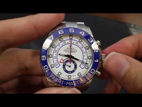 video Rolex Yacht-Master II – 116680 (Stainless Steel)