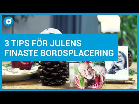 DIY - 3 tips för julens finaste bordsplacering - Smartphoto - Pysselminuten