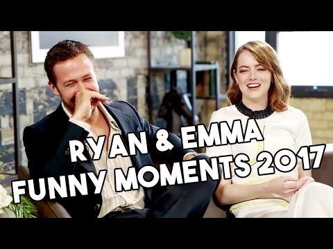 Ryan Gosling and Emma Stone | La La Land | Funny Moments 2017