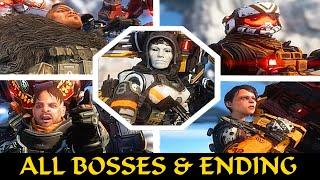 Titanfall 2 All Bosses & Ending (Defeat ASH, Kane, Richter, Viper, Slone)