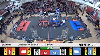 2019 FMA District Bridgewater-Raritan Event - Qualification Match 61