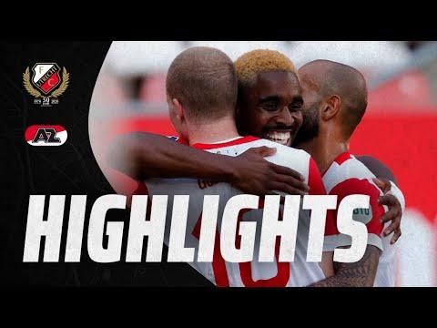 HIGHLIGHTS   Gustafson schiet FC Utrecht naar overwinning op AZ