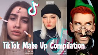 TIKTOK CRAZY MAKEUP COMPILATION