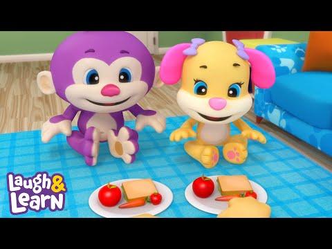 Lernspaß - Picknick im Wohnzimmer | Fisher-Price Deutsch | Kinderlieder | Cartoons für Kinder
