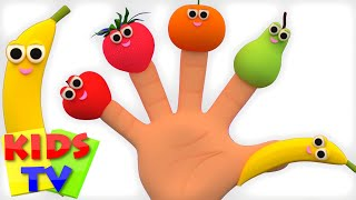 Fruits Finger Family | Learn Fruits | Fruits Song | Nursery Rhymes | Kids Tv